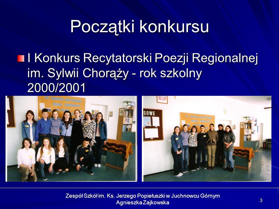 14 Problemy organizacyjne Dotarcie do jak najszerszego grona odbiorców Pozyskanie nowych uczestników konkursu Promocja konkursu Nagrody Zespół Szkół im.