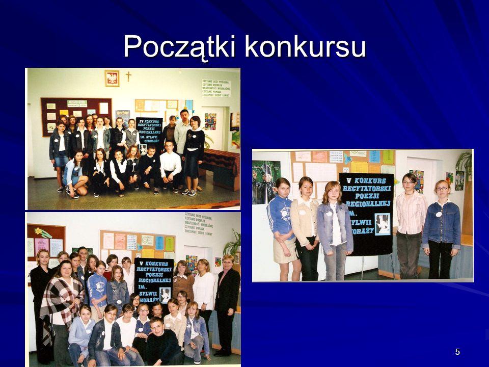 16 Sukcesy Sponsoring nagród dla laureatów III Międzyszkolnego Konkursu Recytatorskiego Poezji Regionalnej im.
