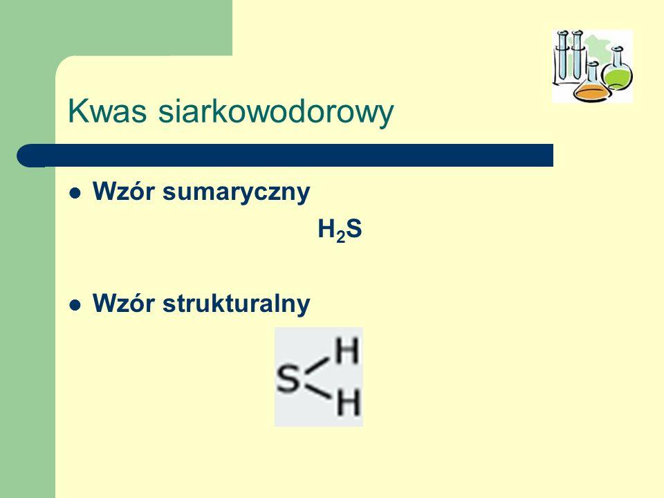 Kwas jodowodorowy Wzór sumaryczny HI Wzór strukturalny