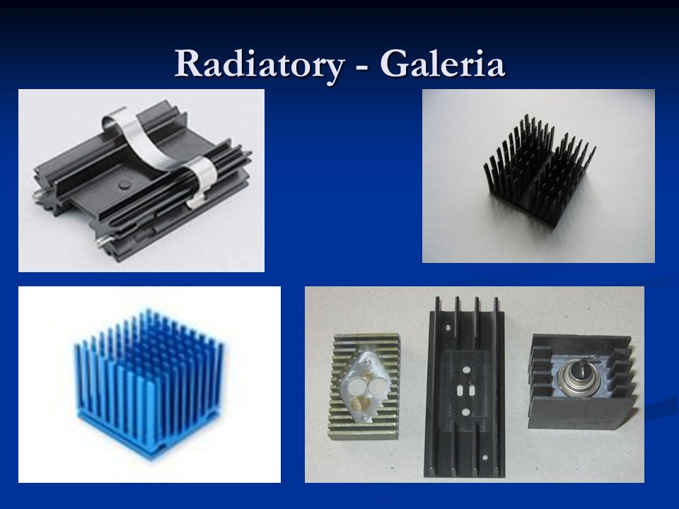 Radiatory - Galeria