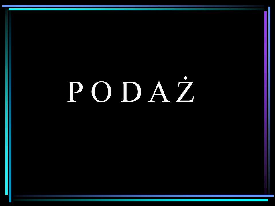 P O D A Ż
