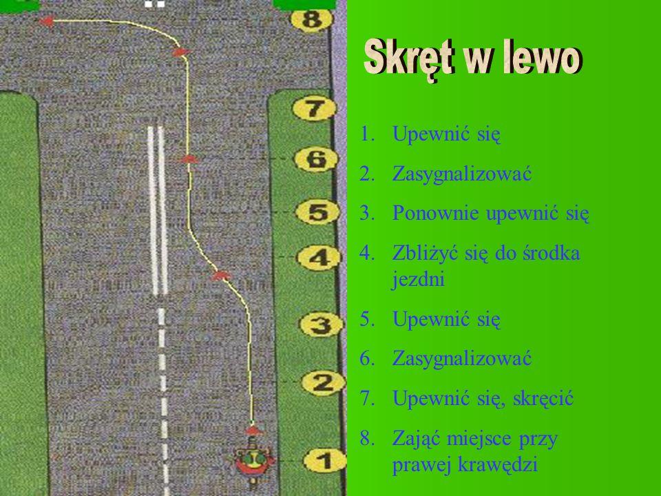 na i przed przejściem dla pieszych