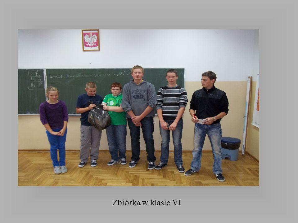 Zbiórka w klasie VI