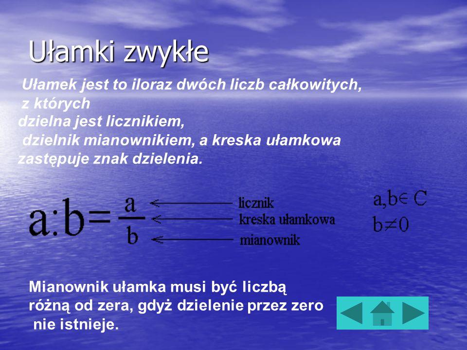 Ułamek skracalny to taki ułamek, w którym licznik i mianownik dzielą się przez liczbę większą od 1. Ułamek skracalny to taki ułamek, w którym licznik