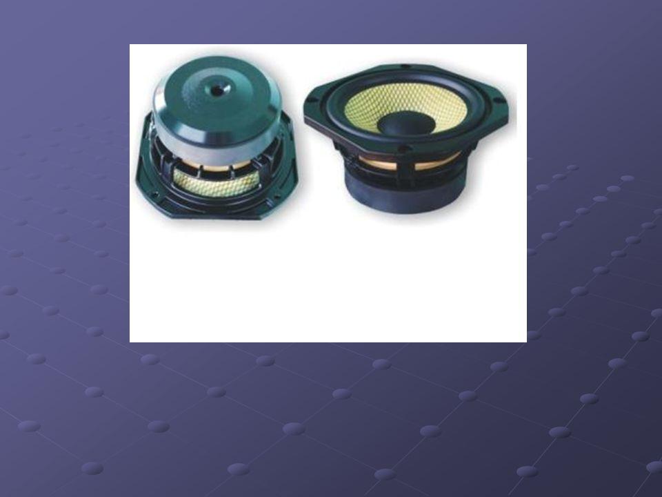 Głośnik Głośnik – przetwornik elektroakustyczny. Urządzenie elektryczne przekształcające sygnał elektryczny w falę akustyczną. Głośnik – przetwornik e