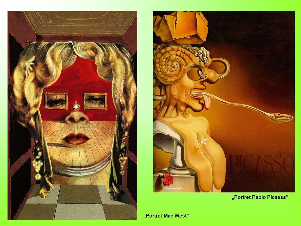 Portret Pablo Picassa Portret Mae West