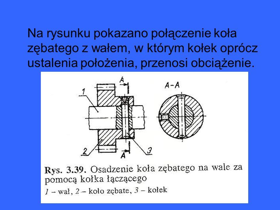 Kołki ustalające Kołki ustalające są pasowane w otworach z wciskiem na zasadzie stałego wałka lub stałego otworu; ich odchyłki odpowiadają wałkom od h do u wg układu tolerancji i pasowań w klasach 6 i 7.