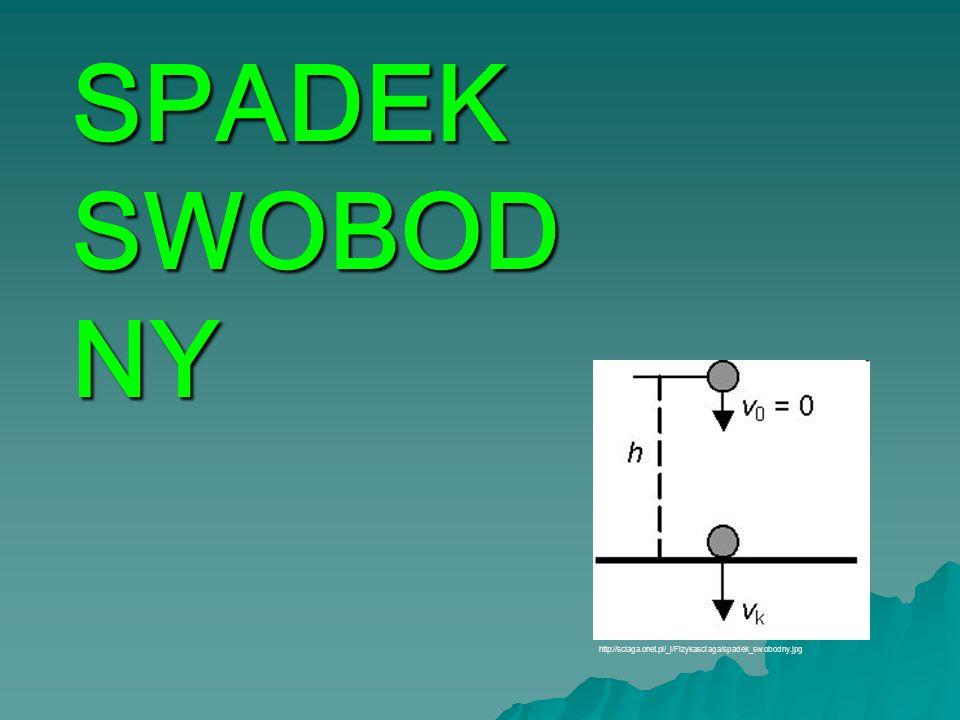 SPADEK SWOBOD NY http://sciaga.onet.pl/_i/Fizykasciaga/spadek_swobodny.jpg
