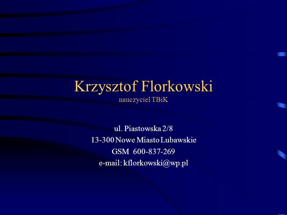 Technika Biurowa i Komputerowa Zespół Szkół Rolniczych ul. Grunwaldzka 9 13-300 Nowe Miasto Lubawskie tel./ fax (056) 474-28-87 e-mail: kwkr1zsr@wp.pl
