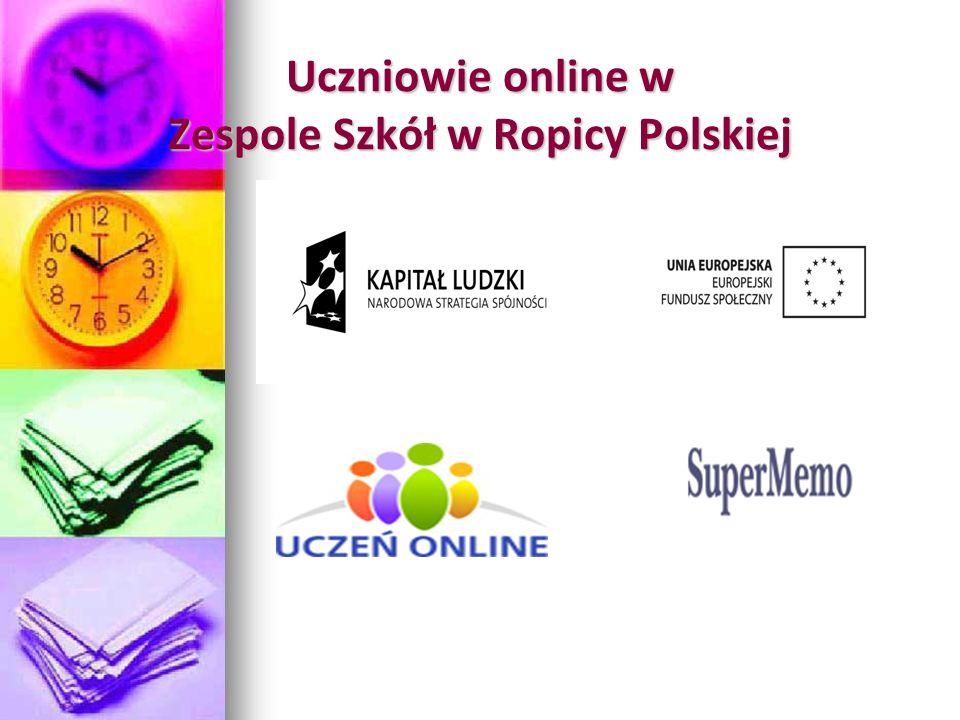 Uczniowie online w Zespole Szkół w Ropicy Polskiej