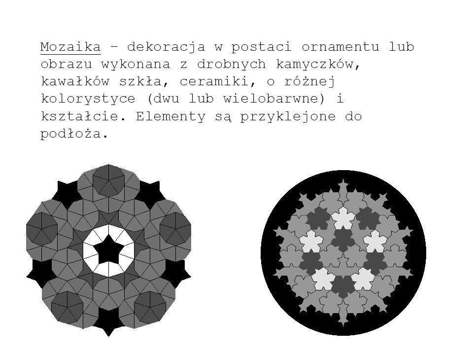 Techniki wykonywania mozaik: