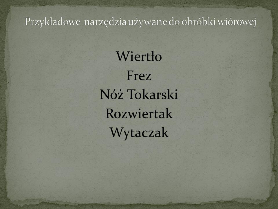 Wiertło Frez Nóż Tokarski Rozwiertak Wytaczak