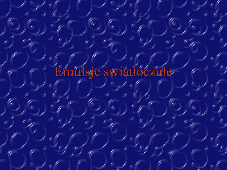 Do nakładania emulsji są używane wirówki z poziomymi tarczami płaskimi.