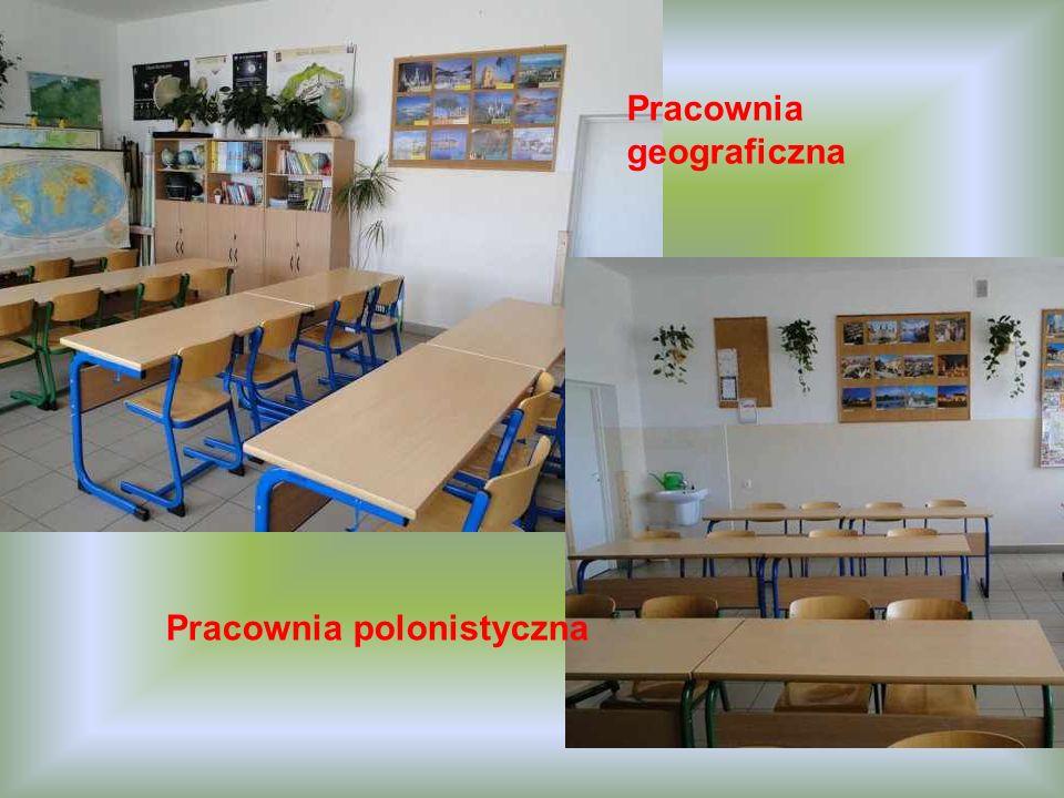Pracownia geograficzna Pracownia polonistyczna
