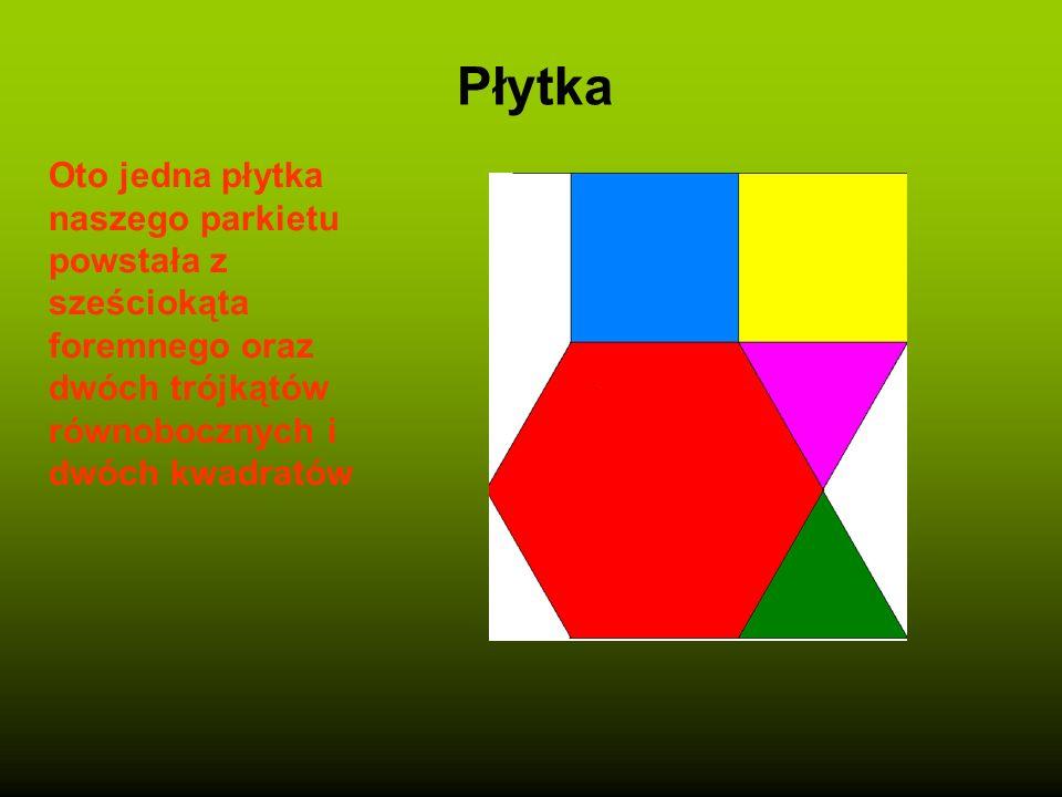 Konstrukcja sześciokąta Trójkąt równoboczny o boku a Bok a odkładamy 6 razy na okręgu Powstaje sześciokąt foremny o boku a