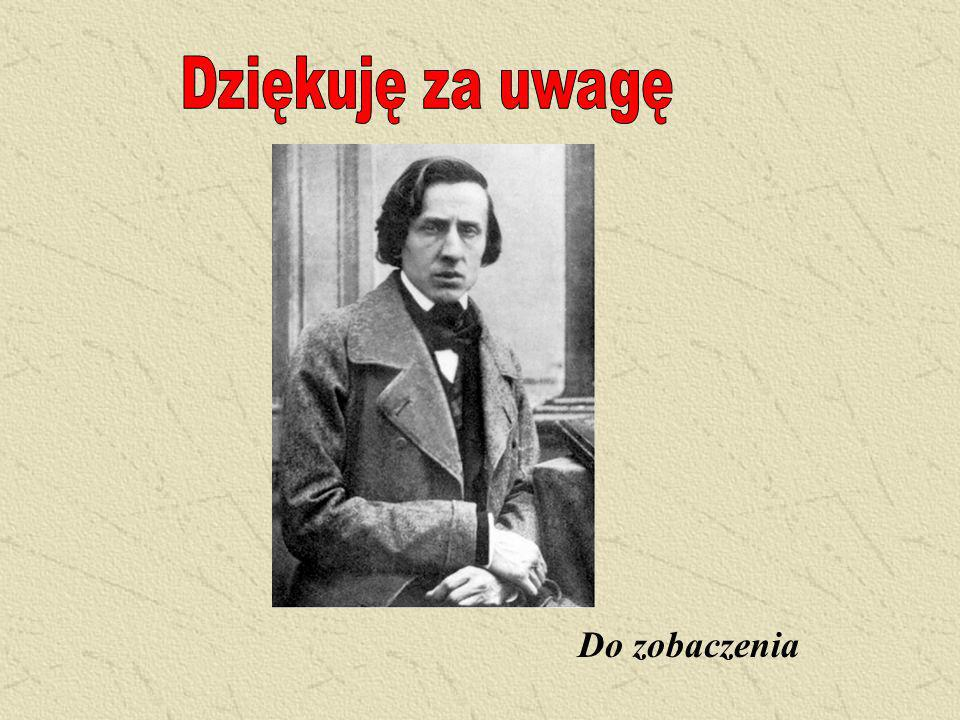 5 listopada 1830 Chopin na zawsze opuszcza Polskę Boże, jesteś ty! Jesteś i nie mścisz się!... Ach, czemuż choć jednego Moskala zabić nie mogłem! A ja