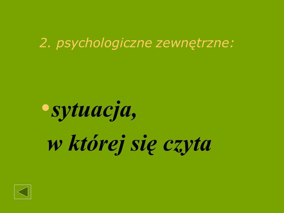 Literatura.Andersen L. G. Ciche czytanie w świetle badań psychologicznych i Pedagogicznych.