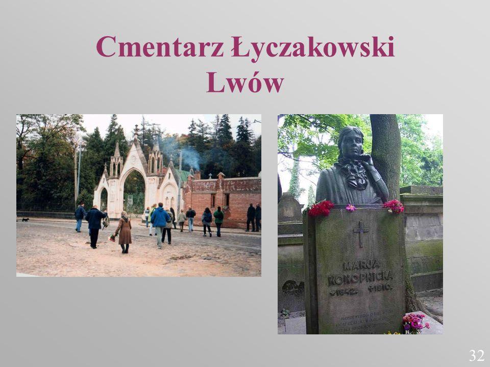 Cmentarz Łyczakowski Lwów 32