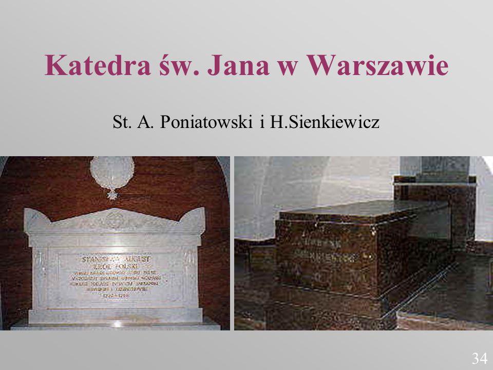 Katedra św. Jana w Warszawie St. A. Poniatowski i H.Sienkiewicz 34