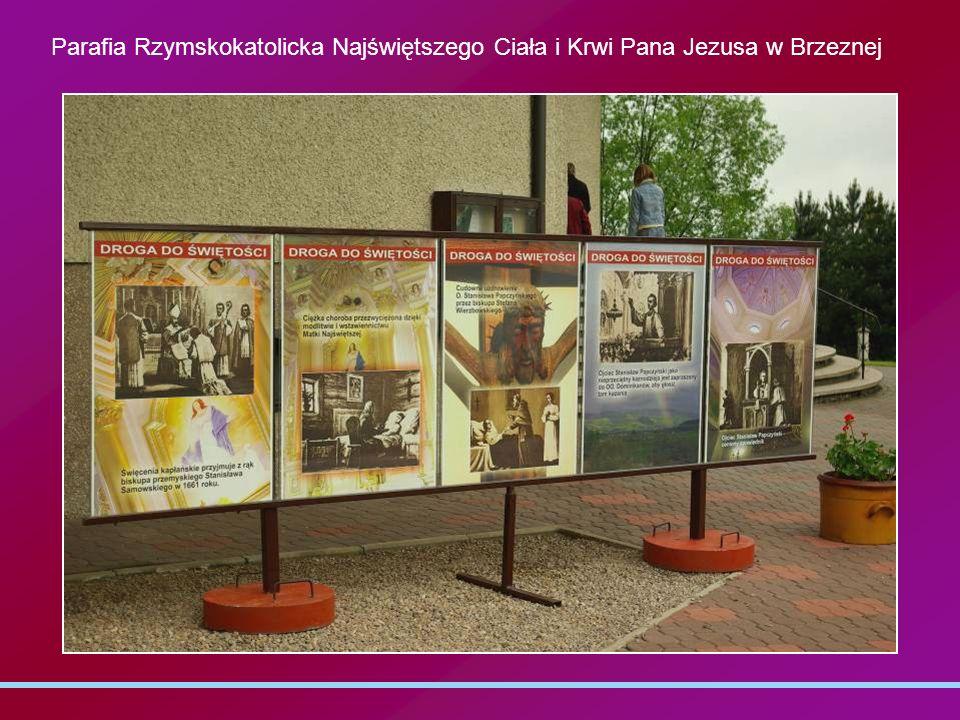 Parafia Rzymskokatolicka Najświętszego Ciała i Krwi Pana Jezusa w Brzeznej