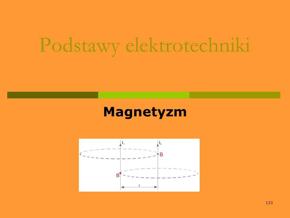 133 Podstawy elektrotechniki Magnetyzm