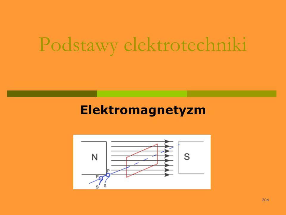 204 Podstawy elektrotechniki Elektromagnetyzm