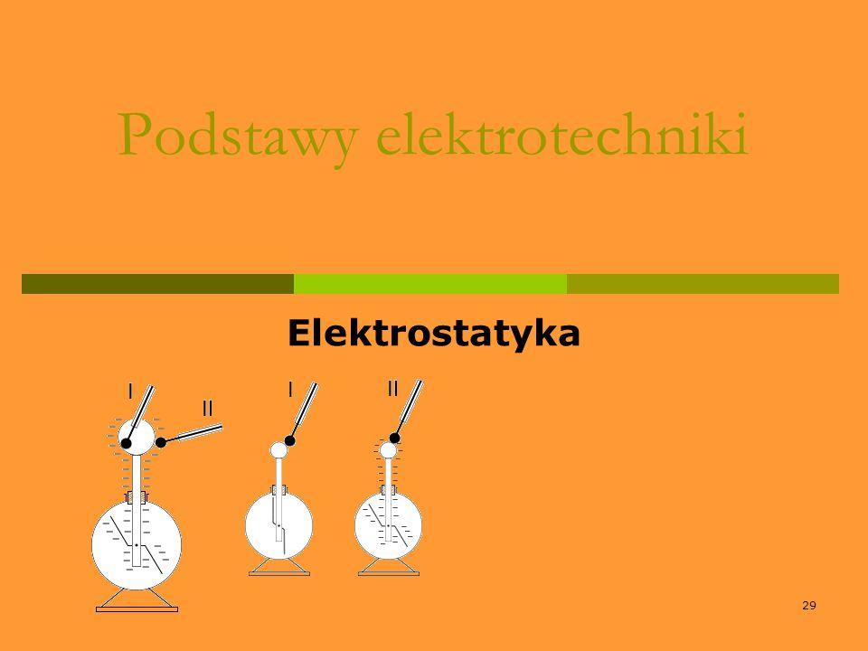 29 Podstawy elektrotechniki Elektrostatyka