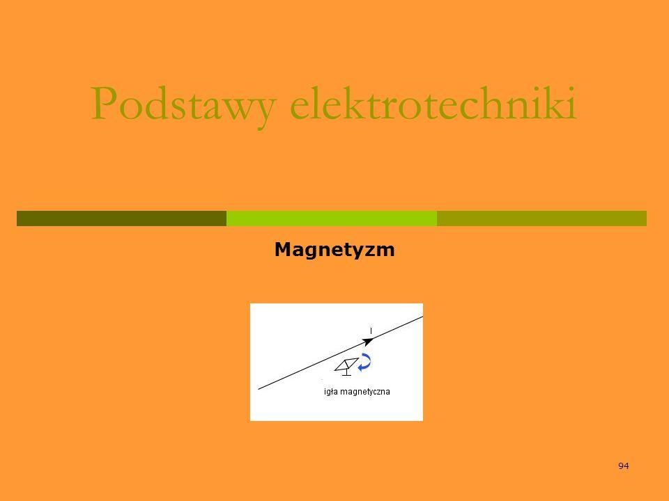 94 Podstawy elektrotechniki Magnetyzm