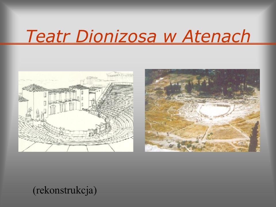 Teatr Dionizosa w Atenach (rekonstrukcja)