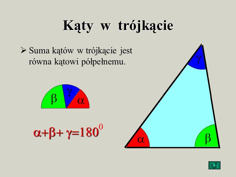 Obwódtrójkąta Obwód trójkąta Obwód trójkąta to suma długości jego boków. Obw.= a + b + c