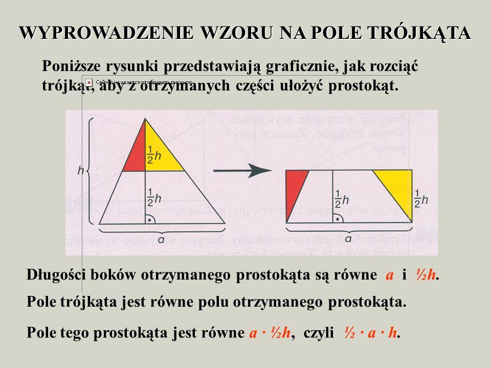 Trójkąt prostokątny °. jeżeli kąty ostre trójkąta prostokątnego są równe 30° i 60°, to jego przeciwprostokątna jest dwa razy dłuższa od przeciwprostok