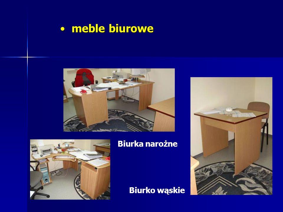 meble biurowe meble biurowe Biurka narożne Biurko wąskie