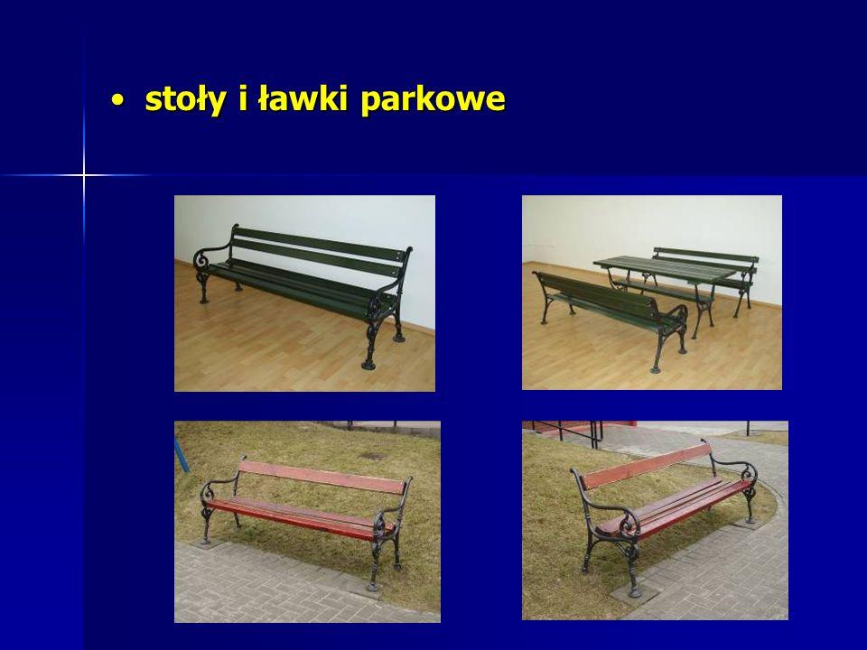 stoły i ławki parkowe stoły i ławki parkowe