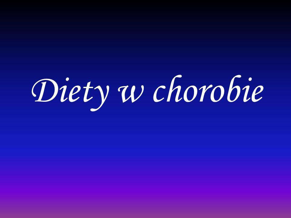 Diety w chorobie
