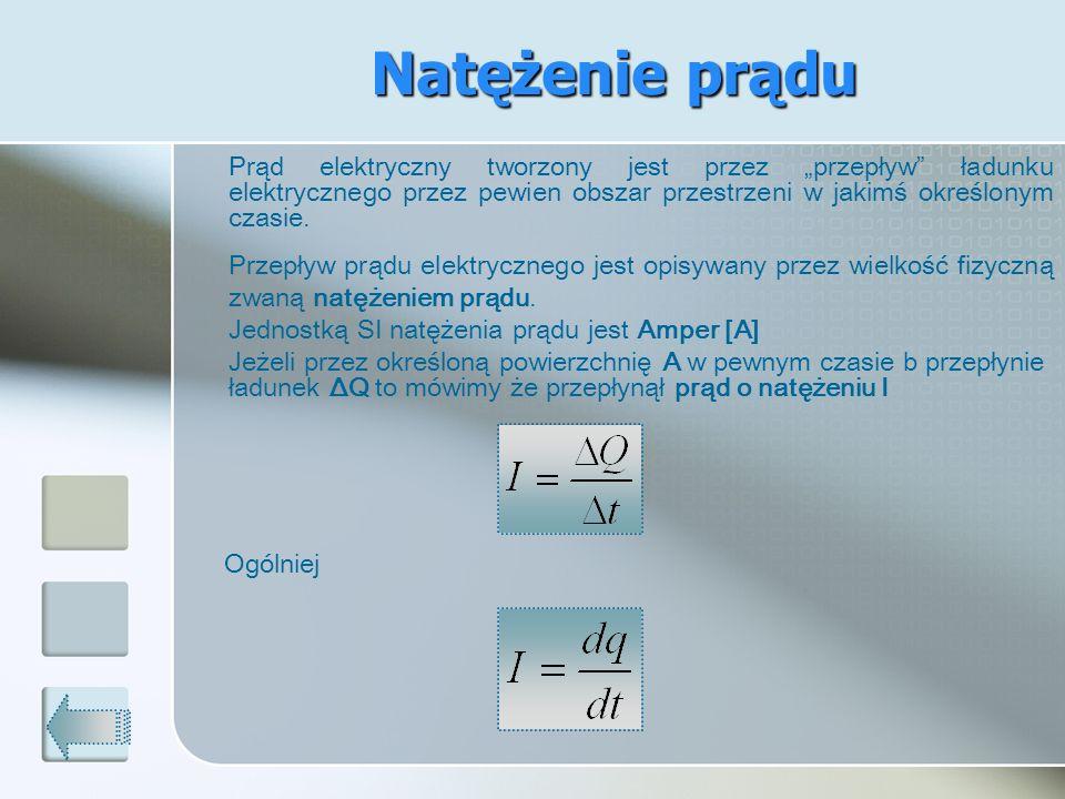 Zadania Dla danego odbiornika ustalono zależność I=I(U).
