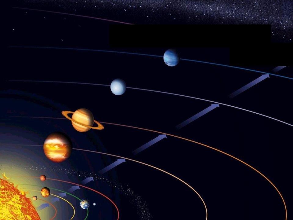 Układ Słoneczny W centrum Układu Słonecznego znajduje się gwiazda średniej masy, czyli Słońce.