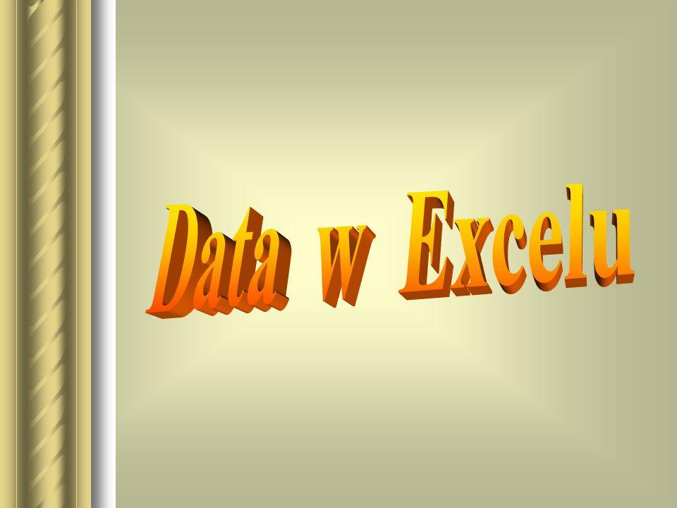 Niestandardowe funkcje daty Liczbę dni do końca miesiąca wyznacza formuła: DATA(ROK(data);MIESIĄC(data)+1;1)- data -1