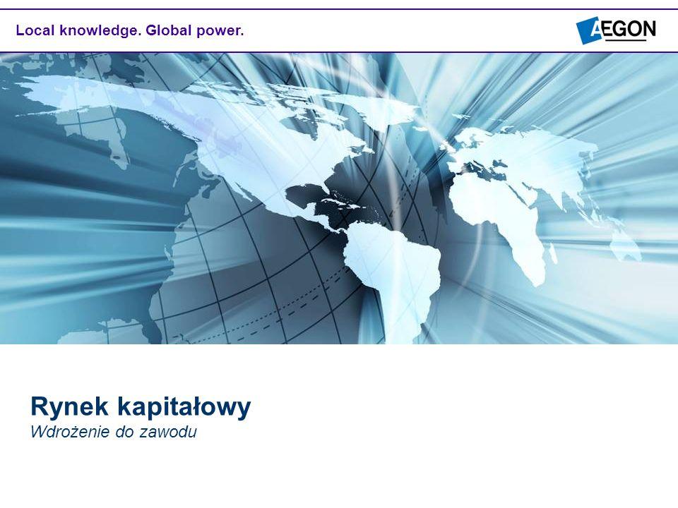Local knowledge. Global power. Rynek kapitałowy Wdrożenie do zawodu