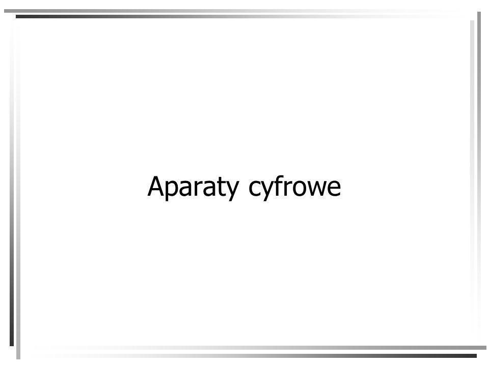 Aparaty cyfrowe