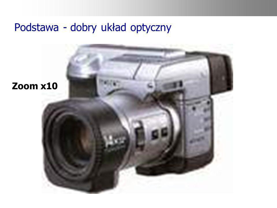 Podstawa - dobry układ optyczny Zoom x10