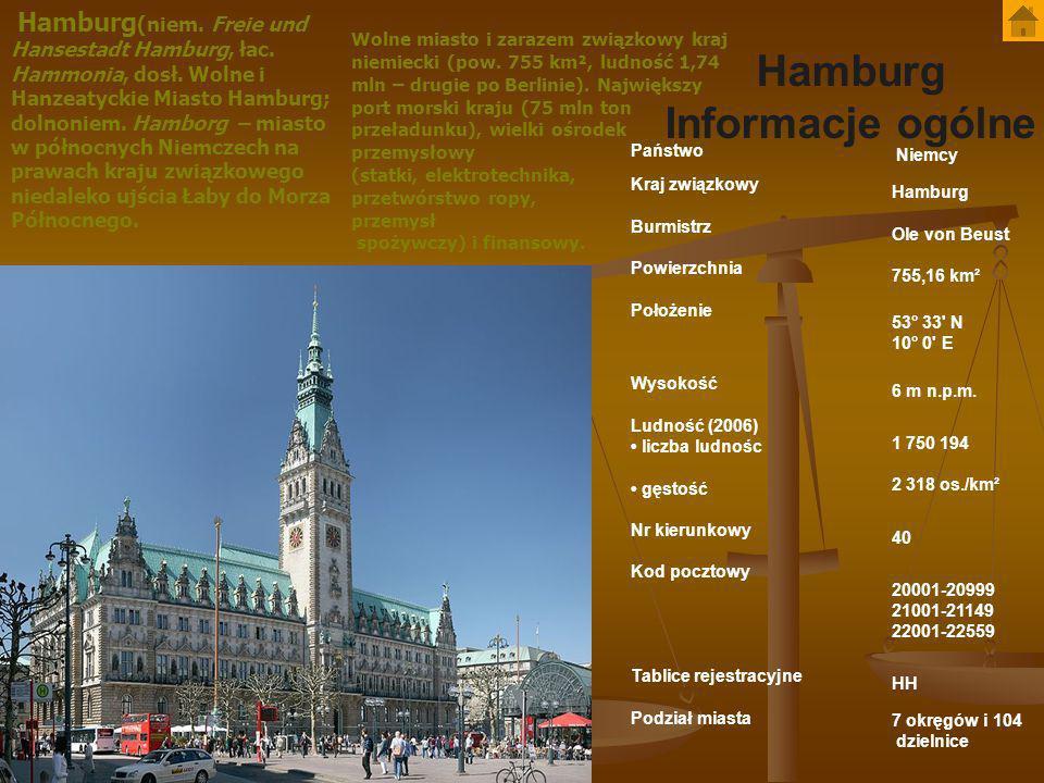 Historia Pierwsza osada na terenie dzisiejszego Hamburga pochodzi z IV w.