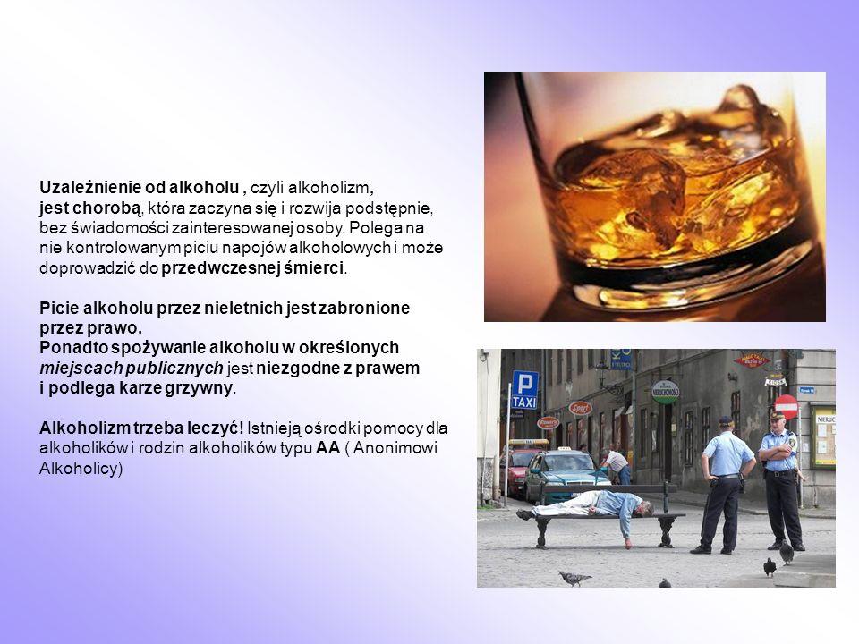 Uzależnienie od alkoholu, czyli alkoholizm, jest chorobą, która zaczyna się i rozwija podstępnie, bez świadomości zainteresowanej osoby. Polega na nie