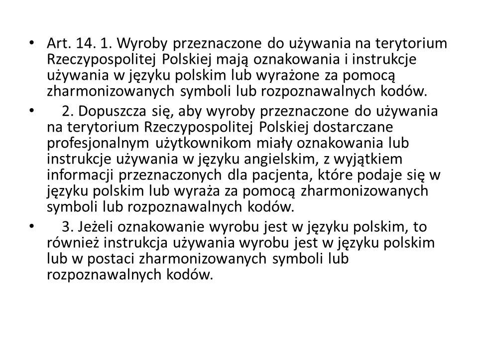 Art.14. 1.