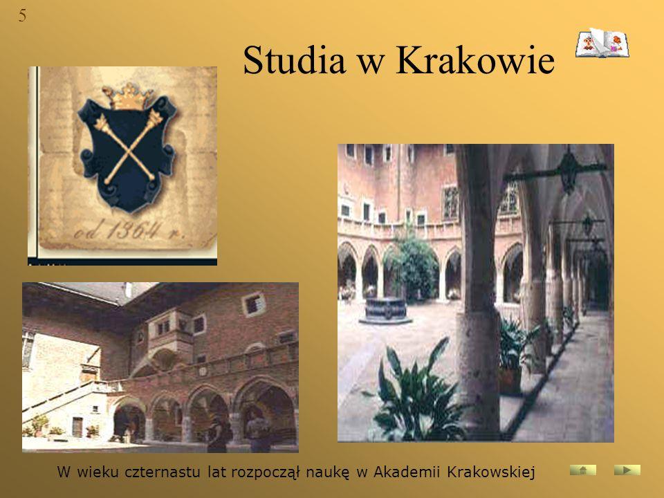 Pobyt w Padwie W roku 1552 wyjechał poeta do Włoch i przebywał tam pięć lat, studiując na uniwersytecie w Padwie.