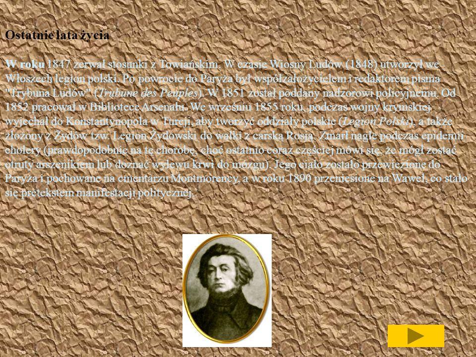 W Paryżu Z Drezna udał się do Paryża, gdzie osiadł na emigracji. Tam nawiązał współpracę z działaczami emigracyjnymi, pisał artykuły i pisma publicyst