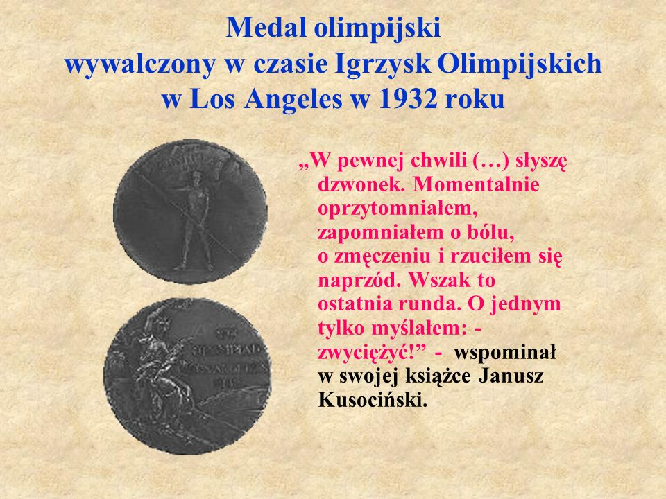 Medale i rekordy życiowe Był z nich dumny. - 800 m - 1: 56,6  1500 m - 3:54,5  3000 m - 8:18,8  5000 m - 14:24,2  10000 m - 30:11,4