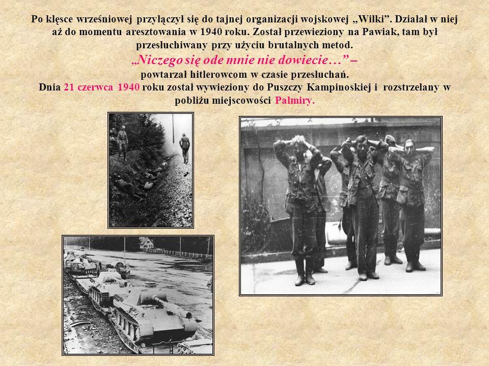 Odznaczenia wojskowe We wrześniu 1939 roku kapral Janusz Kusociński chwycił za karabin i bronił Warszawy. Za swoje zasługi na polu bitwy został dwukro