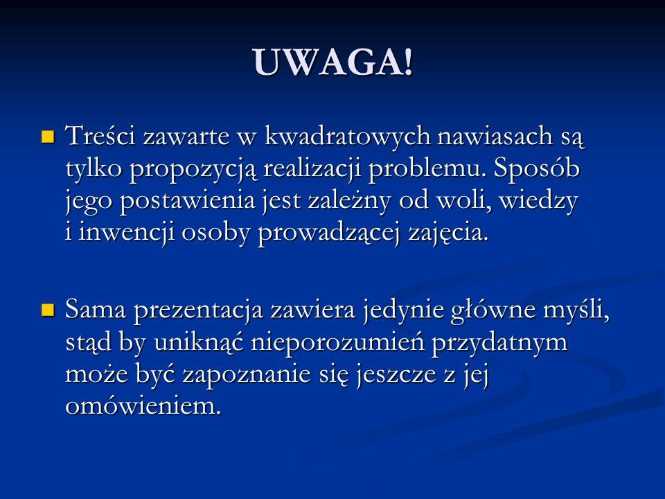 Pomysł i realizacja projektu: Katarzyna Idczak przy współpracy: Doroty Ciećwiery Omówienie prezentacji i ona sama zostały opublikowane na stronie internetowej Kasi: http://www.republika.pl/katwer