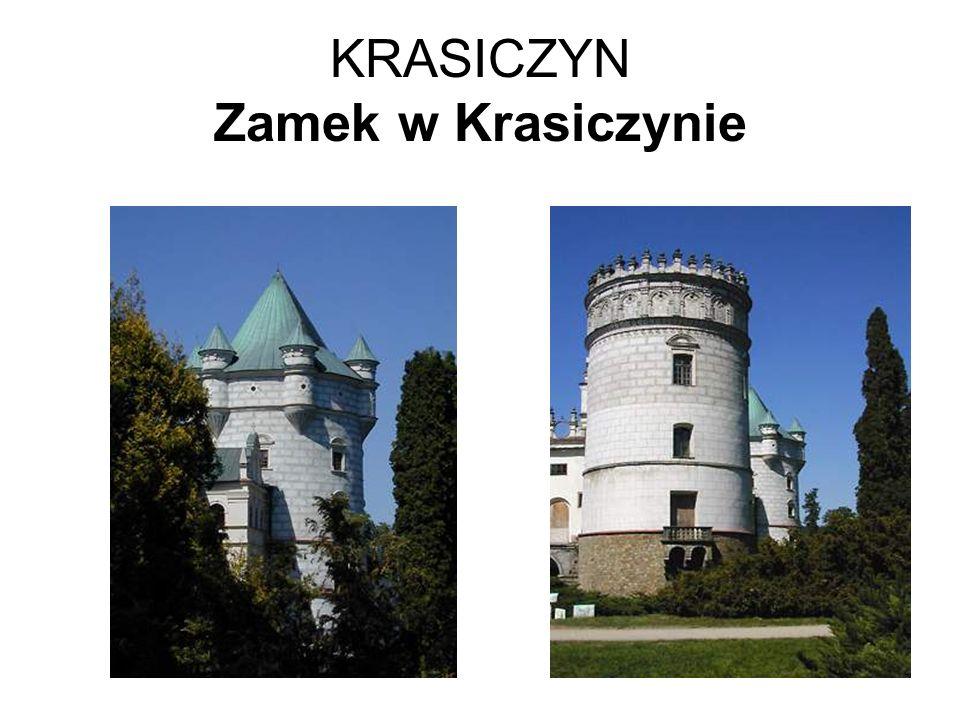 KRASICZYN Zamek w Krasiczynie