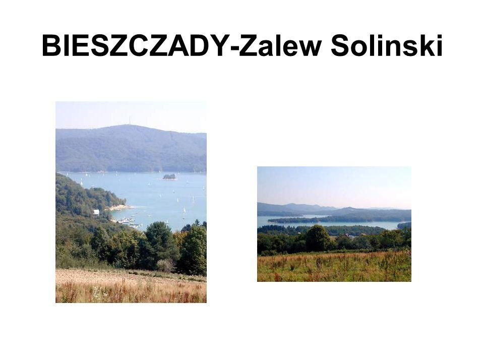 BIESZCZADY-Zalew Solinski